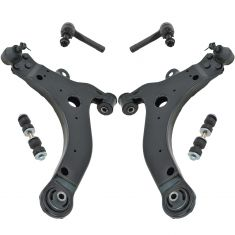 97-11 Chevy Olds Pontiac Sedan Minivan Multifit Front Steering & Suspension Kit (6 Piece)