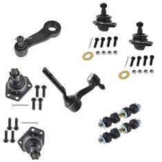1997-05 Chevy GMC Midsize Pickup SUV 4WD Front Steering & Suspension Kit (8 Piece)