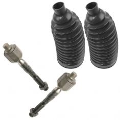 98-05 Mercedes Bens ML Class Inner Tie Rod End w/ Rack Boot Kit (4 Piece)