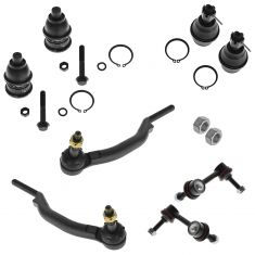 02-03 Chevy, Isuzu, GMC, Olds Mid Size SUV Steering & Suspension Kit (10 Piece)