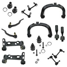 04-07 GM Midsize SUV Multifit Front Steering & Suspension Kit (16 Piece)