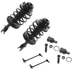 96-00 Chrysler Dodge Plymouth Mini Van Front 6 Piece Steering & Suspension Kit