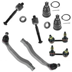 01-03 Acura 3.2CL; 99-03 3.2TL; 98-02 Honda Accord Front Steering & Suspension Kit (8 Piece)