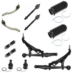 94-97 Integra; 92-95 Civic; 93-97 Civic Del Sol Front Steering & Suspension Kit (12 Piece)