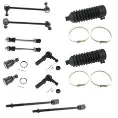 96-07 Ford Taurus; 96-05 Mercury Sable Front Steering & Suspension Kit (12 Piece)