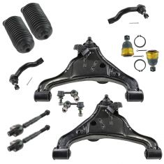 05-10 Frontier; 05-11 Pathfinder, Xterra Steering & Suspension Kit (12 Piece)