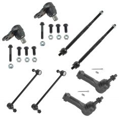 05-10 Chevy Cobalt; 07-10 Pontiac G5; 05-07 Saturn Ion Front Steering & Suspension Kit (8 Piece)