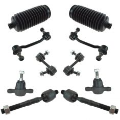 06-10 Hyundai Sonata; 06-11 Azera; 07-09 Kia Amanti Steering & Suspension Kit (10 Piece)