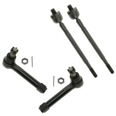04-09 Nissan Quest Inner & Outer Tie Rod End Set of 4