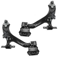 12-14 Honda CR-V Front Lower Control Arm with Balljoint & Bracket Pair
