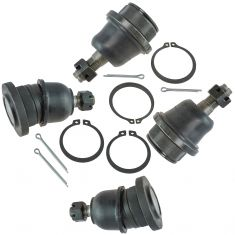 05-14 Toyota Tacoma Front Upper & Lower Ball Joint Set of 4