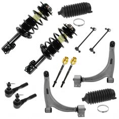 04-12 Malibu; 04-07 Maxx; 05-10 G6; 07-09 Aura Front Steering & Suspension Kit (10 Piece)