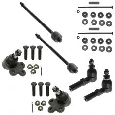 00-05 Buick; 98-05 Cadillac; 97-03 Olds; 00-05 Pontiac Fr 8 Piece Steering & Suspension Kit