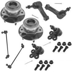 02-07 Vue; 06 Torrent; 05 Equinox Front 8 piece Steering & Suspension Kit