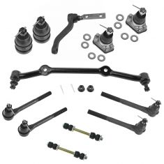 96-05 GM Mid Size Pickup SUV 2WD Front Steering & Suspension Kit (12 Piece)