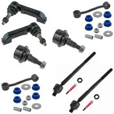 08-11 Dodge Nitro; 08-12 Jeep Liberty Front Steering & Suspension Kit (8 Piece)