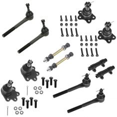 88-92 Chevy GMC K1500 K2500 Front Steering & Suspension Kit (12 Piece)