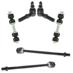 97-11 GM Multifit Front Tie Rod Sway Bar Link Suspension Kit (6pc)