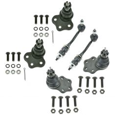 97-99 Dodge Dakota; 99 Durango w/2WD Ball Joint & Sway Bar Link Kit (Set of 6)