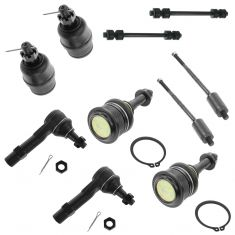 02-05 Ford Explorer, Mercury Mountaineer 4.0L Front Steering & Suspension Kit (10 Piece)
