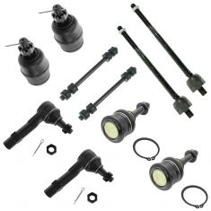 02-05 Ford Explorer, Mercury Mountaineer 4.6L Front Steering & Suspension Kit (10 Piece)