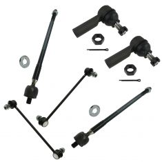 03-06 Toyota Matrix; Pontiac Vibe AWD Front Steering & Suspension Kit (6 Piece)