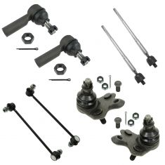03-08 Toyota Matrix; Pontiac Vibe FWD Front Steering & Suspension Kit (8 Piece)