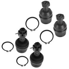 80-96 Ford Bronco F150 F250 Front Upper & Lower Ball Joint Set of 4
