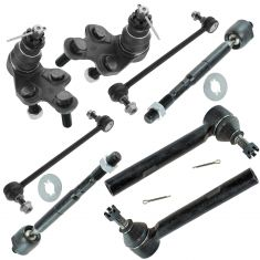 04-07 Highlander; 04-06 RX330; 07-08 RX350 Front Steering & Suspension Kit (8 Piece)