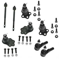 00-04 Dodge Dakota; 00-03 Durango 2WD Front Steering & Suspension Kit (8 Piece)