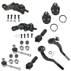 95-00 Tacoma 4WD; 98-00 2WD PreRunner Front Steering & Suspension Kit (10 Piece)
