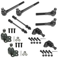 00-02 Dodge Ram 2500 3500 2WD Front Steering & Suspension Kit (10 Piece)