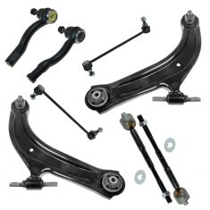 07-12 Nissan Sentra Front Steering and Suspension Kit (8 piece)
