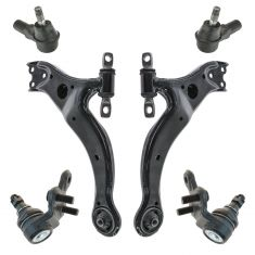 98-04 Toyota Avalon Solara Front Steering & Suspension Kit (6 Piece)