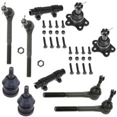 1988-92 Chevy GMC 2WD Steering & Suspension Kit (Set of 10)