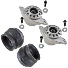 00-06 Audi TT; 98-08 VW Beetle, Golf Jetta Front & Rear Upper Strut Mount Kit (Set of 4)