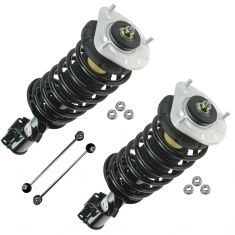 93-97 Volvo 850; 98-04 70 Series Front Complete Strut & Sway Bar Link Kit (Set of 4)