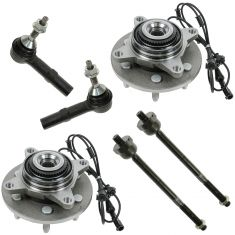 03-06 Ford Expedition; Lincoln Navigator 4WD Front Steering & Suspension Kit (6 Piece)