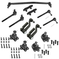 90-05 Chevy Astro GMC AWD Front Steering & Suspension Kit (13 Piece)