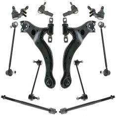 98-03 Toyota Avalon; 99-03 Solara Front Rear Steering & Suspension Kit (12 Piece)