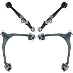 98-05 Lexus GS300; 98-00 GS400; 01-05 GS430; 02-10 SC430 Frnt Upr & Lwr Cntrl Arm Set of 4