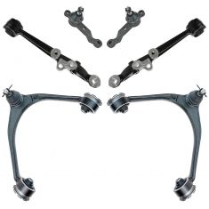 98-05 Lexus GS300; 98-00 GS400; 01-05 GS430; 02-10 SC430 Frnt Upr & Lwr Cntrl Arm w/ Ball Joints 6pc