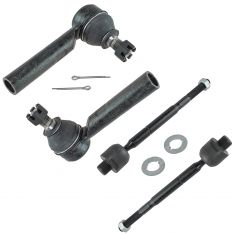 03-09 Lexus GX470; Toyota 4Runner Inner & Outer Tie Rod End Set of 4