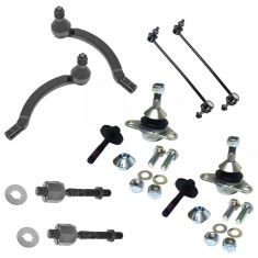 04-09 Volvo S60; 04-06 S80; 04-07 V70 Front Steering & Suspension Kit (8 Piece)
