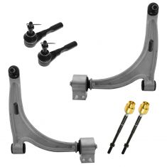 04-12 Malibu; 04-08 Malibu Maxx; 05-10 G6; 07-09 Aura Control Arm & Tie Rod Kit (6pc)