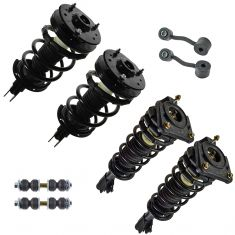 99-05 Chevy Pontiac Olds Malibu Grand Am Alero Front & Rear Suspension Kit (8 Piece)