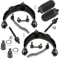 98-02 Honda Accord 3.0L Front Steering & Suspension Kit (12 Piece)