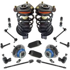 97-09 GM Mid Size FWD Steering & Suspension Kit (16 Piece)