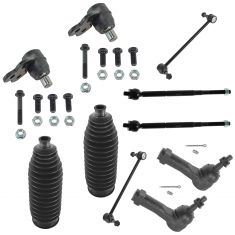 05-10 Chevy Cobalt; 07-10 Pontiac G5; 05-07 Saturn Ion Front Steering & Suspension Kit (10 Piece)