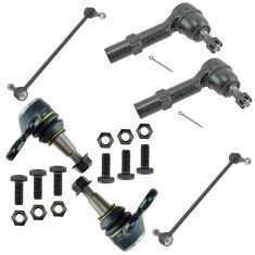 08-14 Enclave Traverse; 07-14 Acadia; 07-10 Outlook Steering & Suspension Kit (6 Piece)